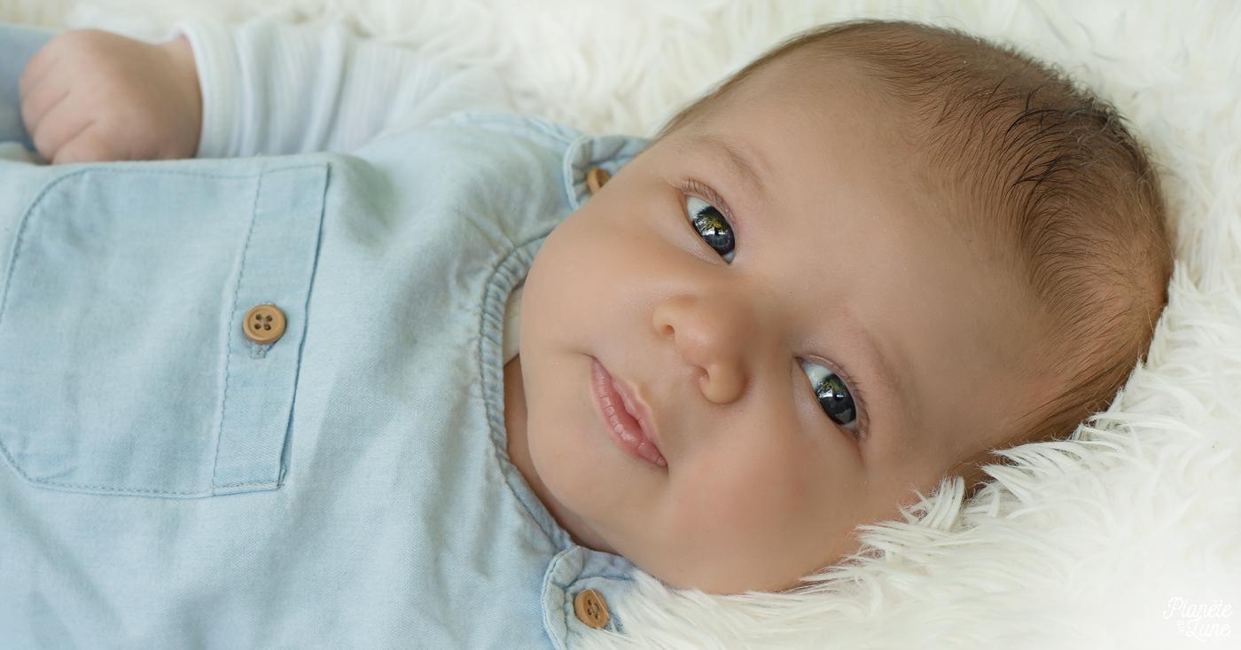 Une séance bébé en extérieur