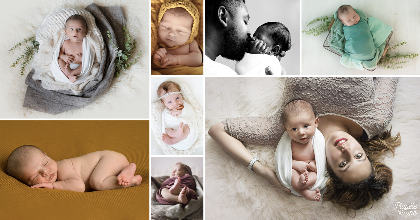 Photographe Bourges - Photographie nouveau né à Bourges