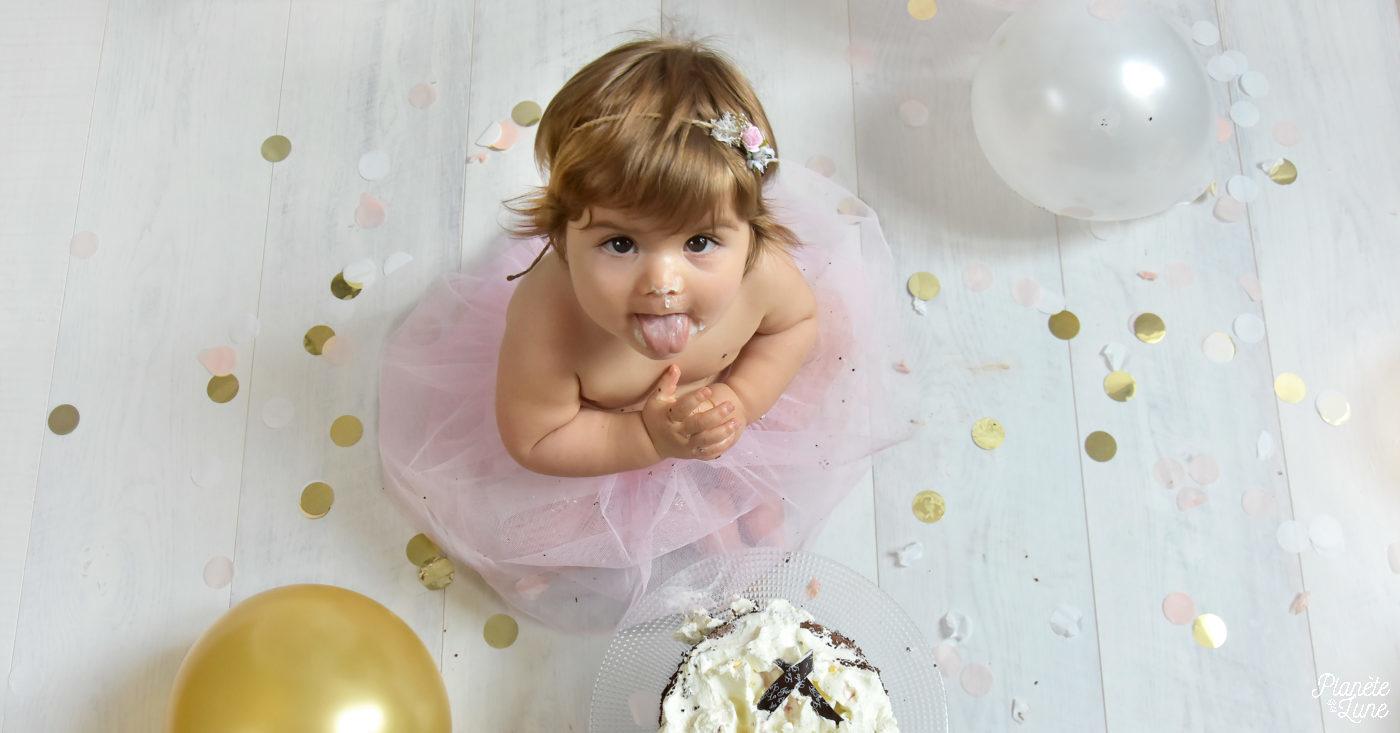 le «Smash the cake» d'Alice
